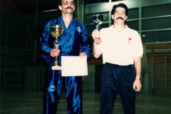 Franco-Melchioretto-beim-Gewinn-seines-ersten-Profikampfes-1987